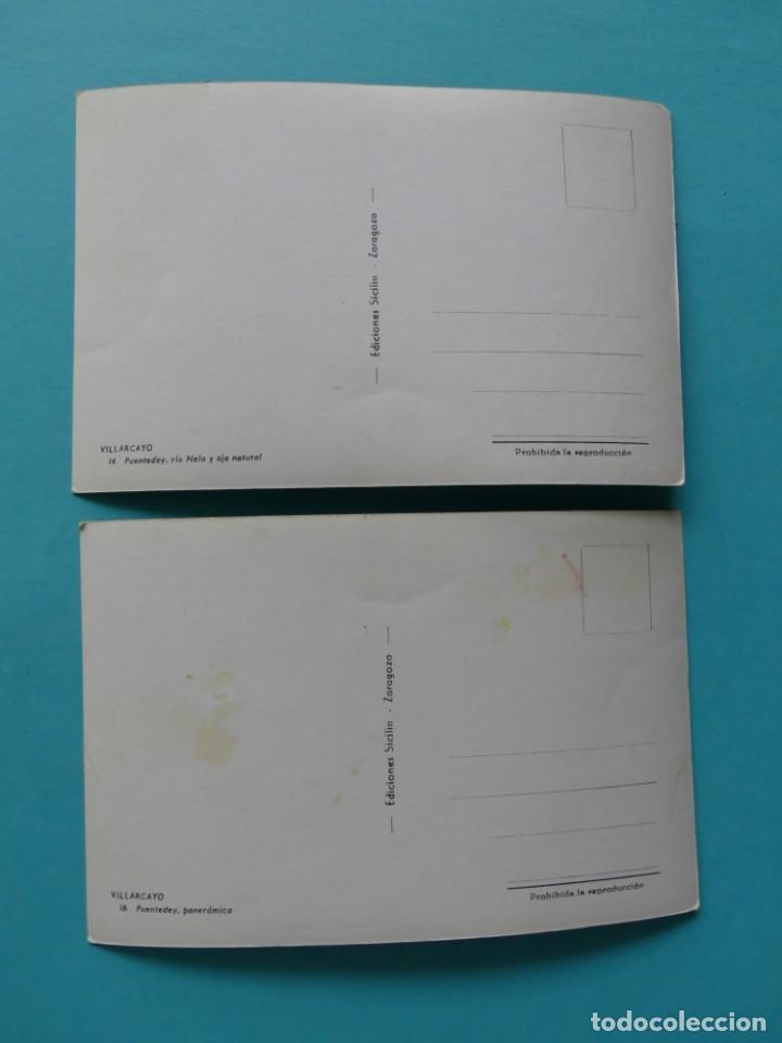 Postales: TARJETA POSTAL ANTIGUA - VILLARCAYO , PUENTEDEY (BURGOS) - ED. SICILIA - 2 POSTALES SIN CIRCULAR - Foto 2 - 257996250