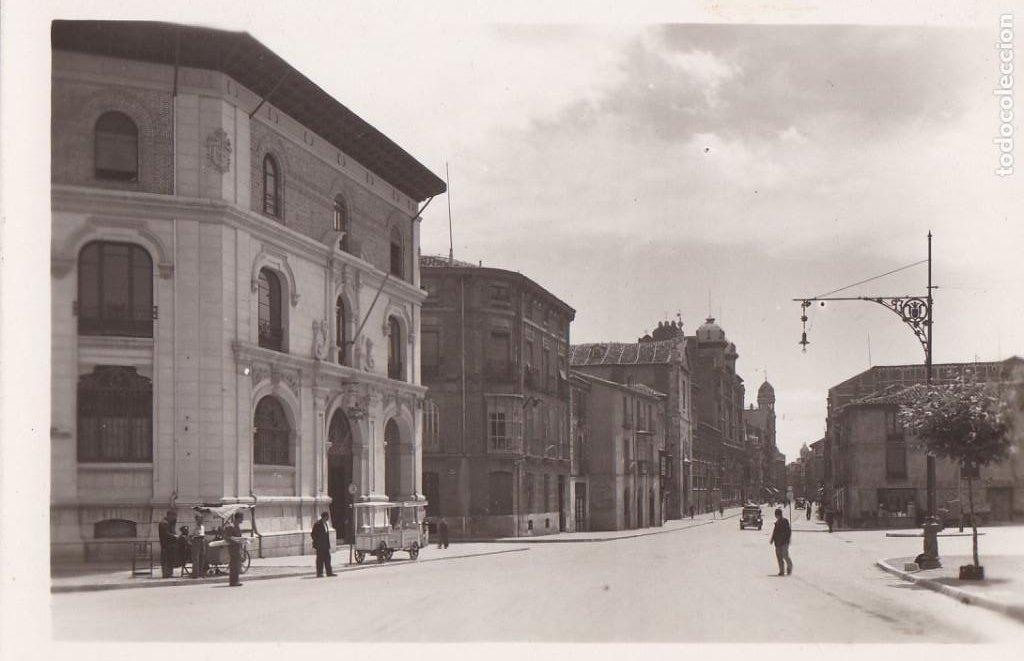 PALENCIA, CORREOS Y CALLE PRINCIPAL. ED. GARRABELLA Nº 7. SIN CIRCULAR (Postales - España - Castilla y León Antigua (hasta 1939))