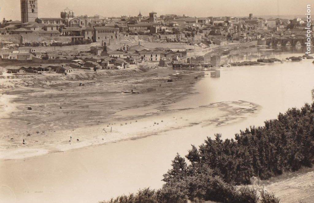 ZAMORA, VISTA PARCIAL. ED. ARRIBAS Nº 169. SIN CIRCULAR (Postales - España - Castilla y León Antigua (hasta 1939))
