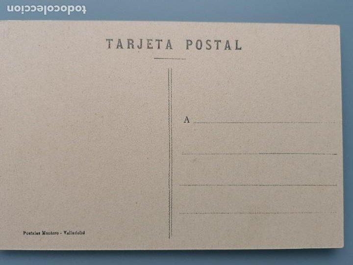 Postales: POSTAL VALLADOLID Nº 15 ARCO DE LADRILLO EDIC MONTERO PERFECTA CONSERVACION ESTACION TREN - Foto 2 - 259210120