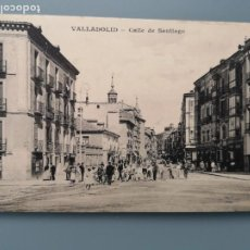 Postales: POSTAL VALLADOLID CALLE DE SANTIAGO EDIC J.H. CASTILLA ANIMADA PERFECTA CONSERVAC. Lote 259218745