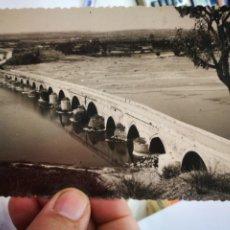 Cartes Postales: POSTAL TORO PUENTE ROMANO SOBRE EL FUERO SIRIS S/C. Lote 260337880