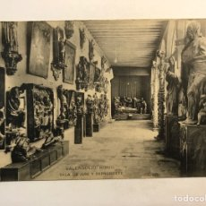 Postais: VALLADOLID. POSTAL MUSEO. SALA DE JUNI Y BERRUGUETE.. FOTOTIPIA HAUSER Y MENET (H.1930?) S/C. Lote 260375465