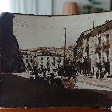 Postais: FOTO PUEBLO DE ÁVILA, MADRID, SIERRA DE MADRID, ORIGINAL, ALBÚMINA, VED FOTOS. Lote 260677810