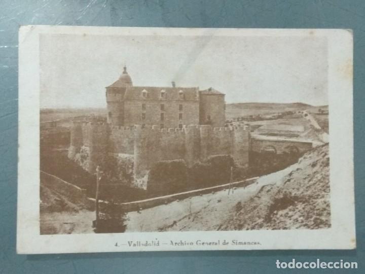 POSTAL - 4 VALLADOLID. ARCHIVO GENERAL DE SIMANCAS. (Postales - España - Castilla y León Antigua (hasta 1939))