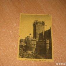 Postales: POSTAL DE CASTILLO DE LA MOTA. Lote 261835100