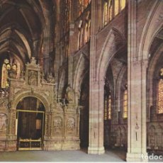 Postales: (61) LEON. CATEDRAL. NAVE CENTRAL ... SIN CIRCULAR. Lote 261849315