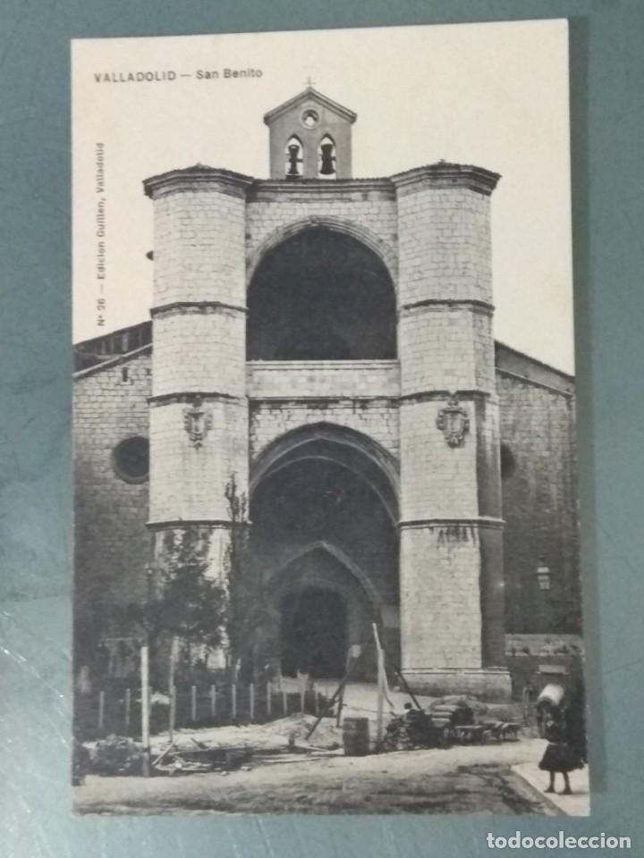 POSTAL - VALLADOLID. 26. SAN BENITO. (Postales - España - Castilla y León Antigua (hasta 1939))