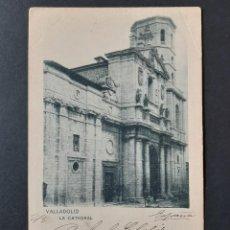 Postales: POSTAL VALLADOLID - CATEDRAL - HAUSER Y MENET - CIRCULADA 1903. Lote 261992735