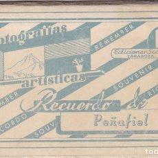 Postales: VALLADOLID RECUERDO DE PEÑAFIEL. BLOC COMPLETO CON 10 POSTALES FOTOGRAFICAS. ED. SICILIA. Lote 262001300