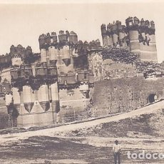 Postales: POSTAL FOTOGRÁFICA VISTA DEL CASTILLO DE COCA, NO FIGURA FOTÓGRAFO. SIN CIRCULAR.. Lote 262279090