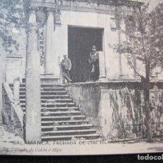 Postales: SALAMANCA-FACHADA DE LOS IRLANDESES-VIUDA DE CALON E HIJO-24-POSTAL ANTIGUA-(80.416). Lote 262291115
