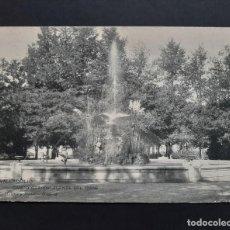 Postales: POSTAL VALLADOLID - CAMPO GRANDE FUENTE DEL CISNE - CIRCULADA 1907 - MATASELLO BAR-LE-DUC MEUSE. Lote 262308325