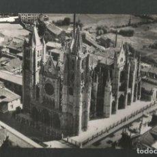 Cartes Postales: POSTAL CIRCULADA LEON 15 CATEDRAL EDITA POSTALES MADRID. Lote 262464110