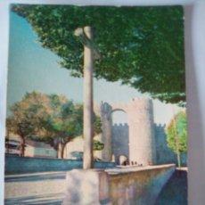 Postales: POSTAL DE ÁVILA, PUERTA DE SAN VICENTE.. Lote 262629960