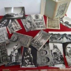 Cartes Postales: LOTE DE 27 POSTALES MUY ANTIGUAS DE VALLADOLID Y PROVINCIA. Lote 262722260