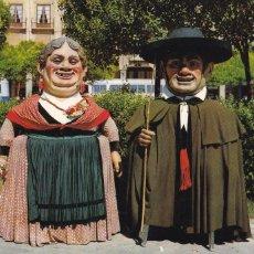 Postais: BURGOS LOS GIGANTILLOS. ED. SICILIA Nº 9. AÑO 1961. ESCRITA. Lote 263176775