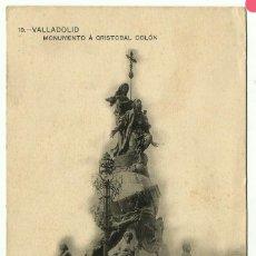 Postales: POSTAL Nº 19 VALLADOLID MONUMENTO CRISTOBAL COLON. Lote 265216844