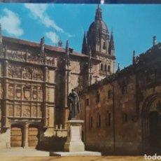 Postales: POSTAL N°3 PATIO ESCUELAS UNIVERSIDAD DE SALAMANCA. Lote 265722729