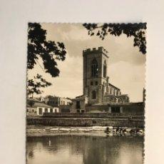 Cartoline: PALENCIA. POSTAL NO.12, TORRE DE SAN MIGUEL Y RÍO CARRION. EDITA: GARCIA GARRABELLA (H.1950?) S/C. Lote 266183138