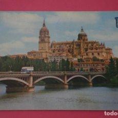 Postales: POSTAL CIRCULADA DE CATEDRALES SALAMANCA LOTE 4 MIRAR FOTOS. Lote 266483538