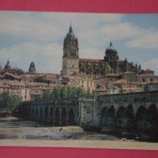 Postales: POSTAL CIRCULADA DE PUENTE ROMANO SALAMANCA LOTE 4 MIRAR FOTOS. Lote 266483658