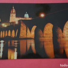 Postales: POSTAL SIN CIRCULAR DE CATEDRAL Y PUENTE ROMANO SALAMANCA LOTE 10 MIRAR FOTOS. Lote 266766768
