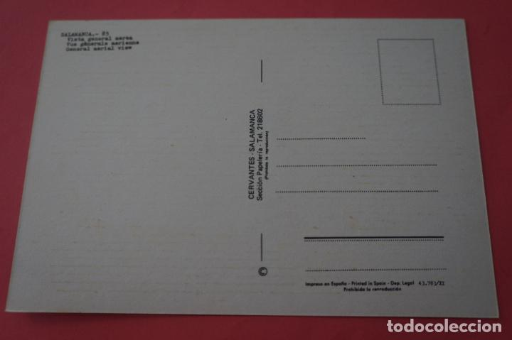 Postales: POSTAL SIN CIRCULAR DE VISTA GENERAL AEREA DE SALAMANCA LOTE 10 MIRAR FOTOS - Foto 2 - 266768744