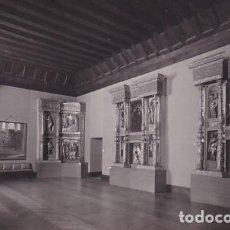 Postales: 121 VALLADOLID. MUSEO. DETALLES DEL RETABLO DE SAN BENITO. SIN CIRCULAR.. Lote 267089004