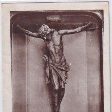 Postales: VALLADOLID. CRISTO EN LA CRUZ. (CARBONEROS). IGLESIA DE LAS ANGUSTIAS. SIN CIRCULAR.. Lote 267090739