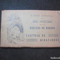 Postales: ALBUM ARTISTICO DEL REAL MONASTERIO DE LAS HUELGAS DE BURGOS-HAUSER Y MENET-VER FOTOS-(K-3062). Lote 267257394
