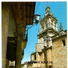 Postales: BURGO DE OSMA / TORRE DE LA CATEDRAL / EDICIONES SICILIA. Lote 268288664