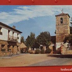Postales: NAVAS RIOFRIO PLAZA IGLESIA SEGOVIA GARRABELLA 4 SC CASTILLA LEON TERRAZA BAR. Lote 268924904