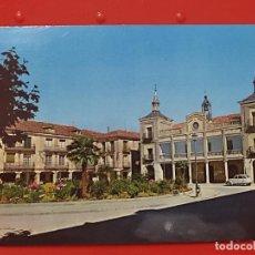 Postales: BURGO OSMA PLAZA MAYOR 1 CIRCULADA CASTILLA LEON MATASELLOS ED INTER SORIA. Lote 268926004