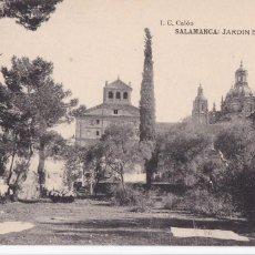 Postais: SALAMANCA JARDIN BOTANICO. ED. J.C. CALÓN, FOTOTIPIA HAUSER Y MENET. SIN CIRCULAR. Lote 269128773