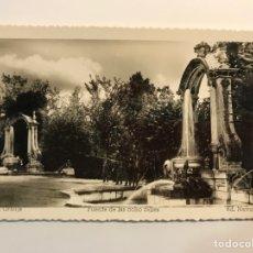 Postales: LA GRANJA (SEGOVIA) POSTAL NO.18, FUENTE DE LAS OCHO CALLES. EDIC., NAVARRO (A.1952) DEDICADA... Lote 269129998