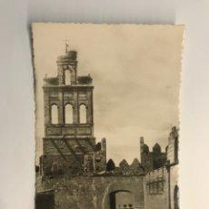 Postales: AVILA. POSTAL NO.59, ARCO DE LA CÁRCEL. EDIC. HELIOTOPIA ARTÍSTICA ESPAÑOLA (H.1950?) DEDICADA. Lote 269133313