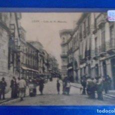 Postales: (PS-656750)POSTAL DE LEON-CALLE DE SN.MARCELO. Lote 269654618