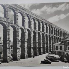 Postales: NO. 34 SEGOVIA EL ACUEDUCTO. DOMÍNGUEZ - MADRID. FOTO J. CABALLERO. NO CIRCULADA. Lote 269747173