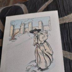 Cartoline: ANTIGUA POSTAL COLOREADA DE AVILA. Lote 269838463