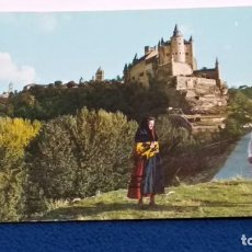 Postales: POSTAL Nº 5 ( SEGOVIA - ALCAZAR Y PAISAJE ) EDICIONES ALARDE OVIEDO - 1964. Lote 271555073