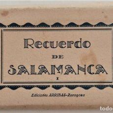 Postales: RECUERDO DE SALAMANCA I - EDICIONES ARRIBAS - ZARAGOZA - TIRA CON 15 FOTOGRAFÍAS. Lote 272242178