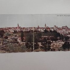 Postales: POSTAL SEGOVIA DOBLE 9 X 29 CM VISTA PANORAMICA. JUNTA DE TURISMO LO QUE DEBE VERSE. BLASS. Lote 274580713