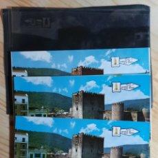 Postales: ARENAS DE SAN PEDRO Nº 4043 PLAZA Y CASTILLO / POSTAL , PRUEBA DE COLOR , NEGATIVOS /EDI. PERGAMINO. Lote 276090983