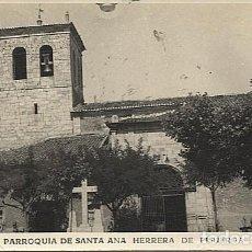 Postais: X125833 CASTILLA Y LEON PALENCIA BOEDO - OJEDA HERRERA DE PISUERGA PARROQUIA DE SANTA ANA. Lote 276694923