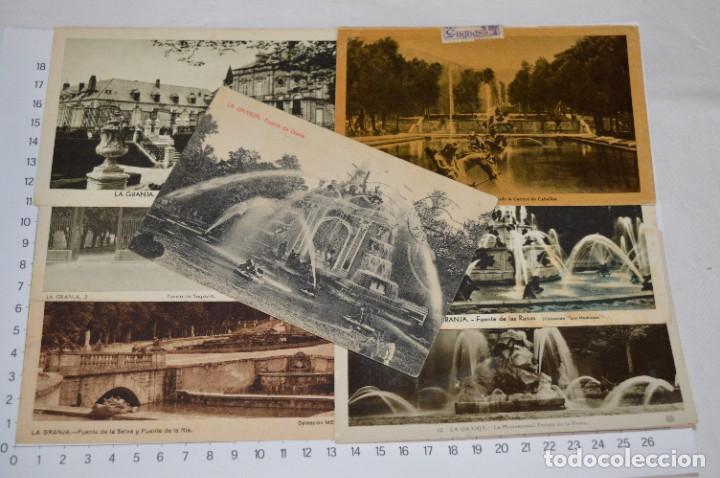 Postales: Lote 7 postales antiguas / LA GRANJA - Segovia - 6 de Años 40/50 y 1 Años 20 ¡Mira fotos/detalles! - Foto 2 - 277016938