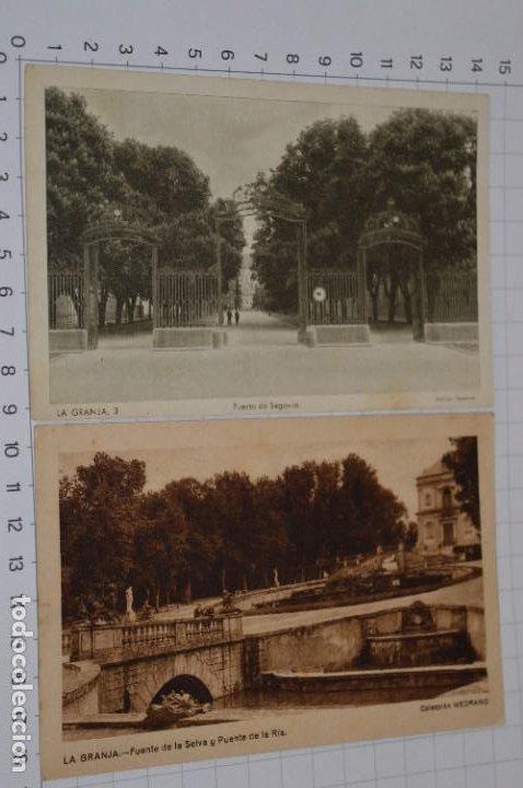 Postales: Lote 7 postales antiguas / LA GRANJA - Segovia - 6 de Años 40/50 y 1 Años 20 ¡Mira fotos/detalles! - Foto 3 - 277016938