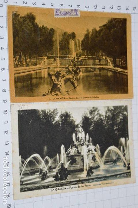 Postales: Lote 7 postales antiguas / LA GRANJA - Segovia - 6 de Años 40/50 y 1 Años 20 ¡Mira fotos/detalles! - Foto 4 - 277016938