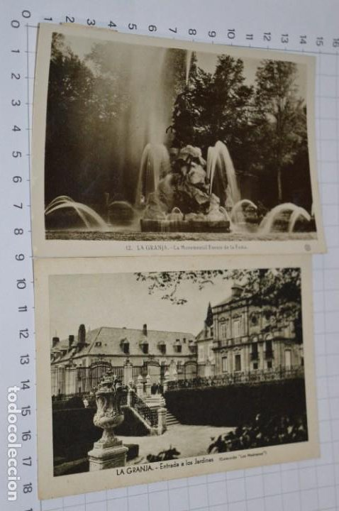 Postales: Lote 7 postales antiguas / LA GRANJA - Segovia - 6 de Años 40/50 y 1 Años 20 ¡Mira fotos/detalles! - Foto 5 - 277016938