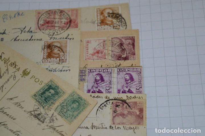 Postales: Lote 7 postales antiguas / LA GRANJA - Segovia - 6 de Años 40/50 y 1 Años 20 ¡Mira fotos/detalles! - Foto 8 - 277016938